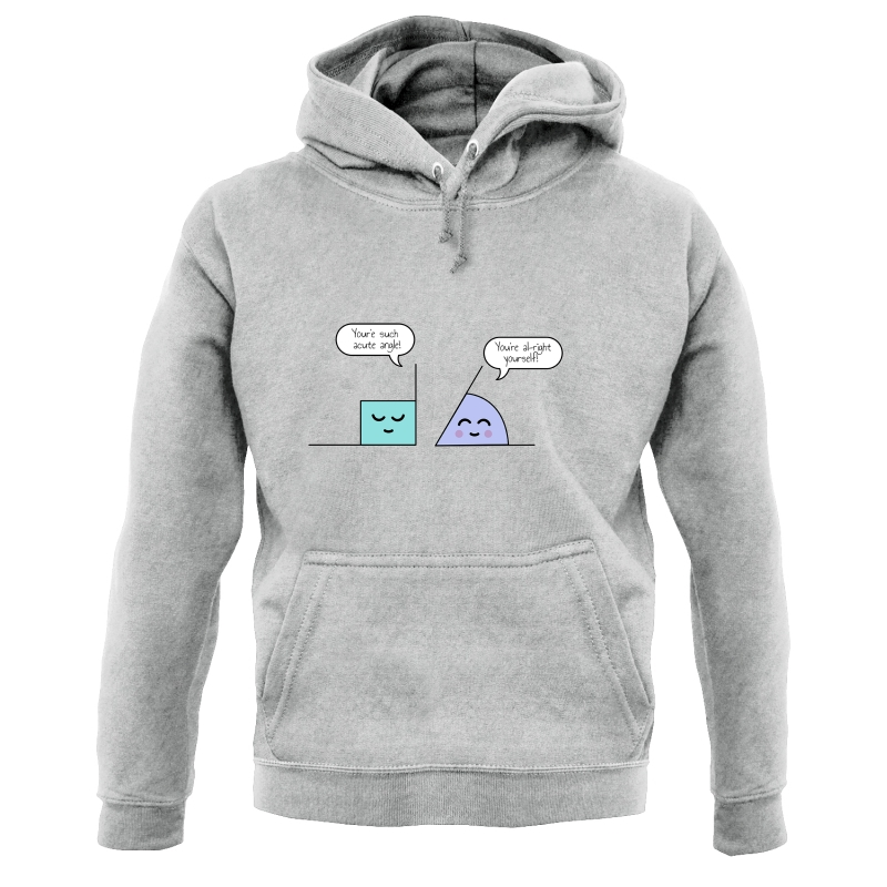 Complementary Angle Hoodies