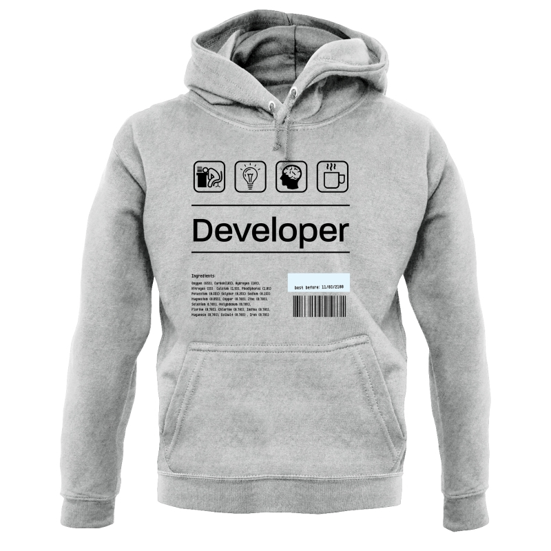 Developer Ingredients Hoodies