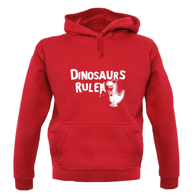 Dinosaurs Ruled Hoodies
