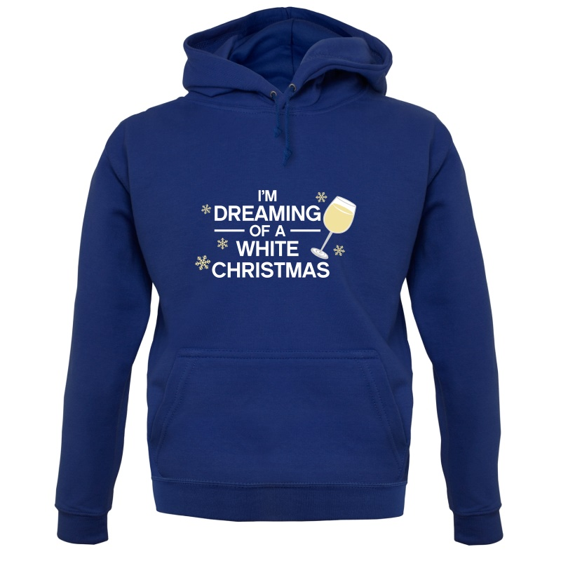 Dreaming Of A White Christmas Hoodies