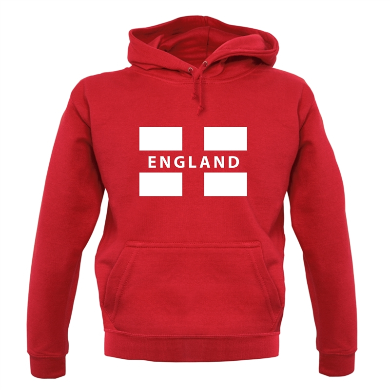 England Flag Hoodies