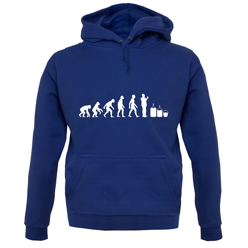 Evolution Of Man Homebrew Hoodies