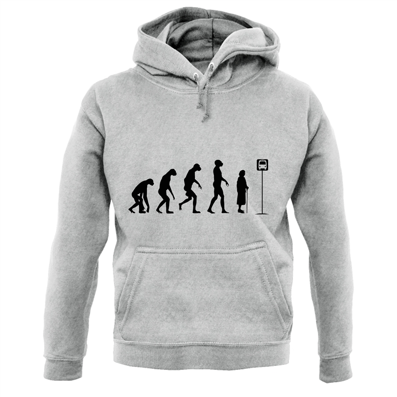 Evolution - Bus Stop Hoodies