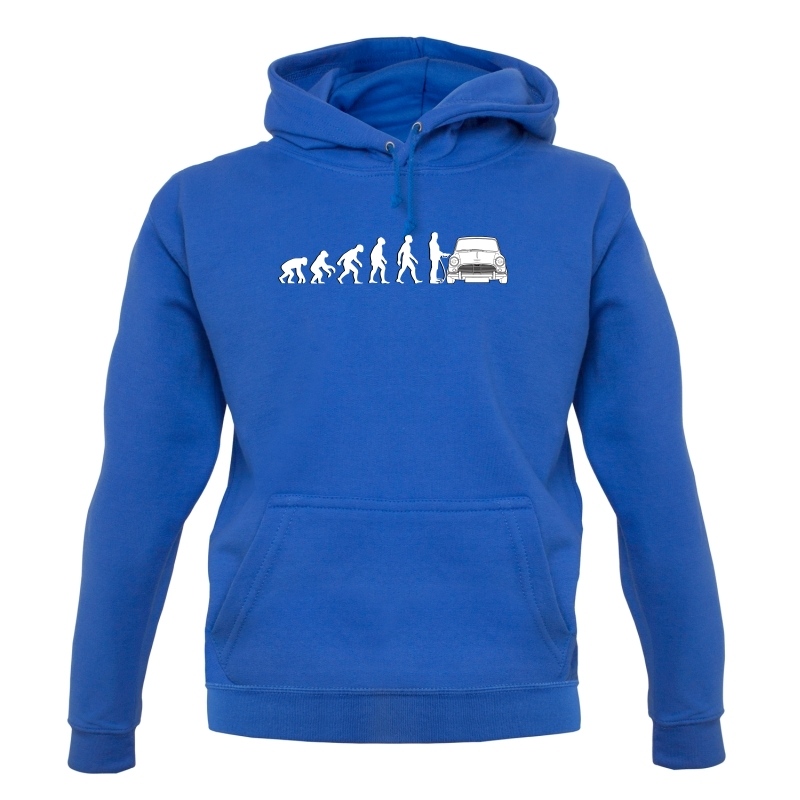 Evolution Of Man Austin Cooper Driver Hoodies