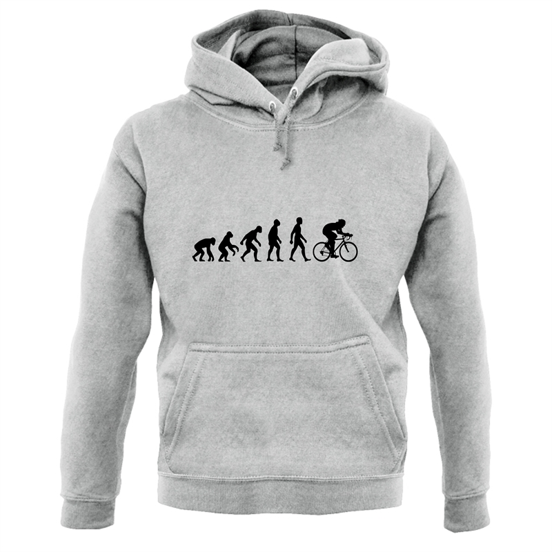 Evolution of Man Cycling Hoodies