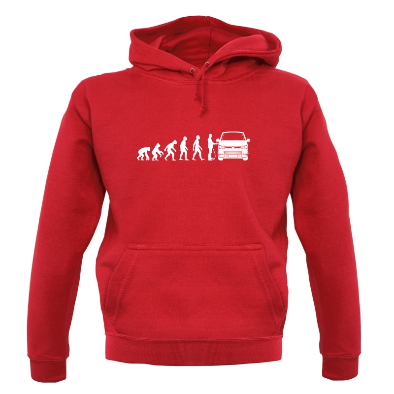 Evolution of Man T5 Campervan Hoodies