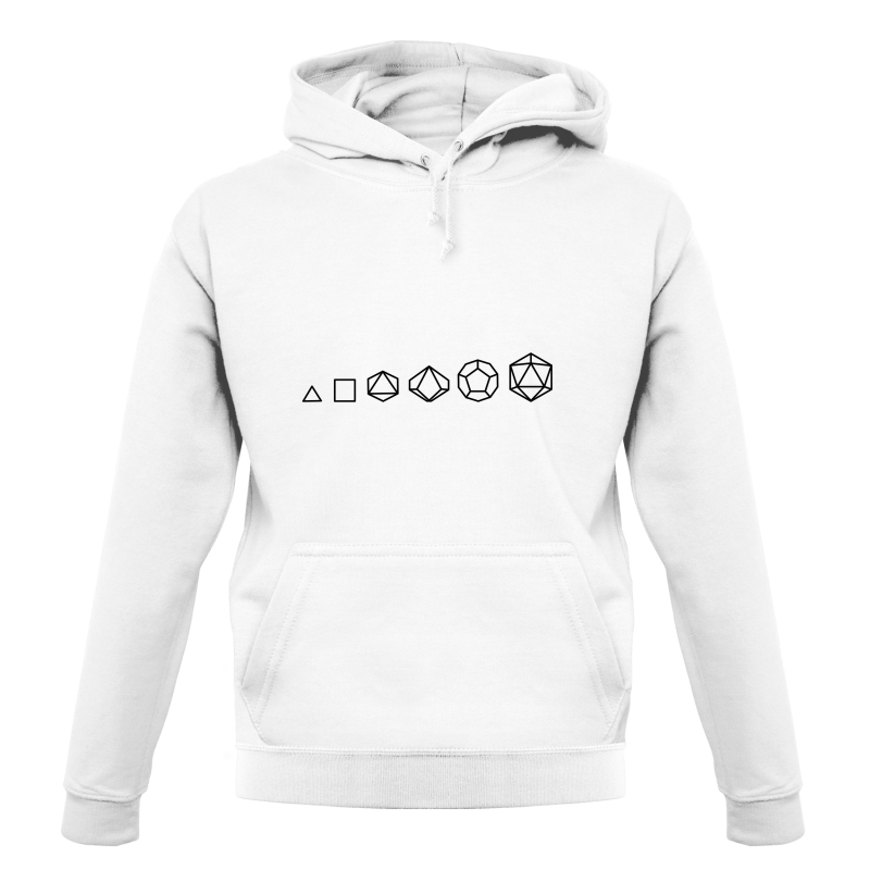 Evolution of Role Playing Dice Hoodies