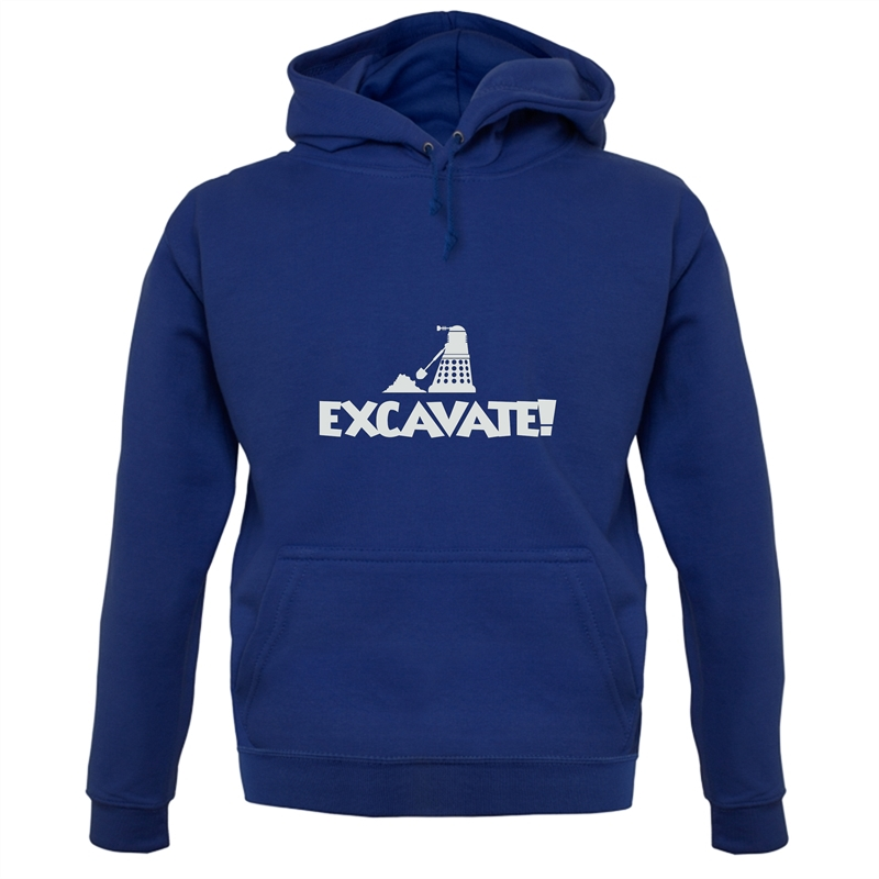 Excavate Hoodies