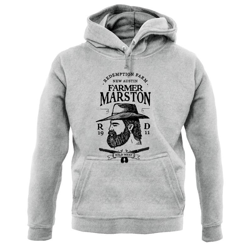 Farmer Marston Hoodies