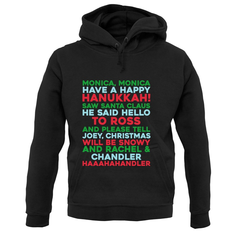Friends Christmas Song Hoodies