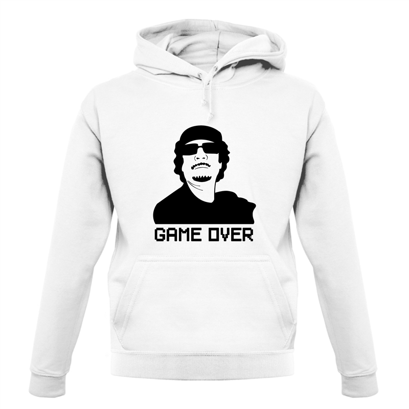 Game Over Gaddafi Hoodies