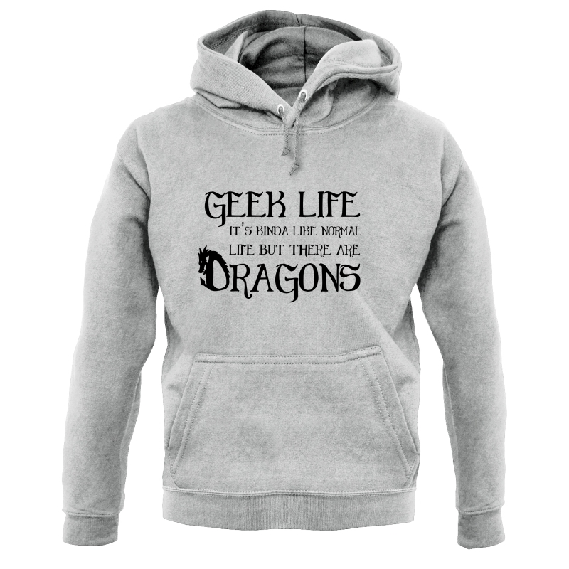 Geek Life Hoodies