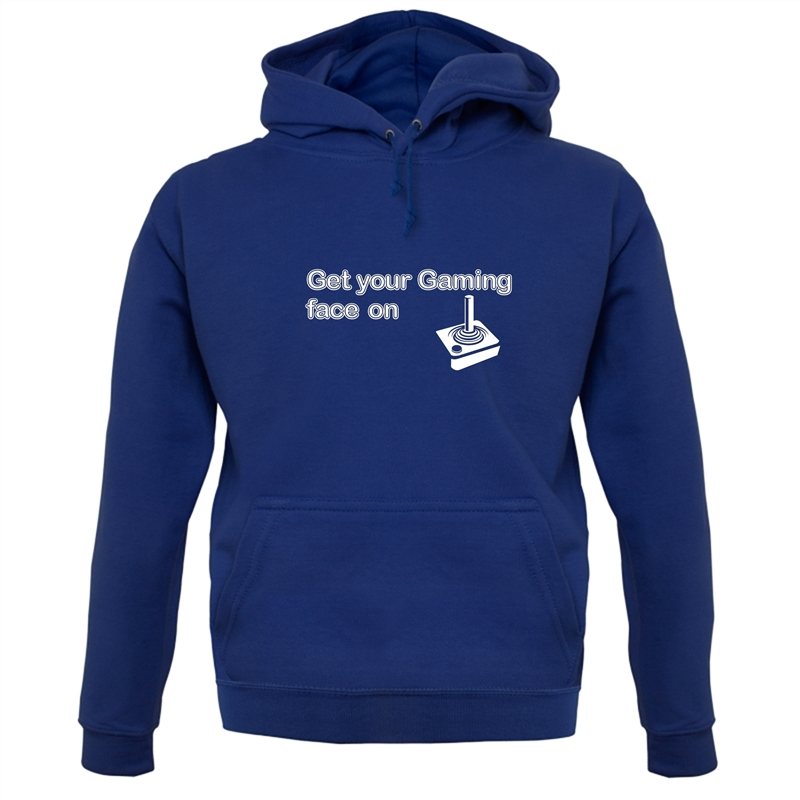Get Your Gaming Face On Hoodies