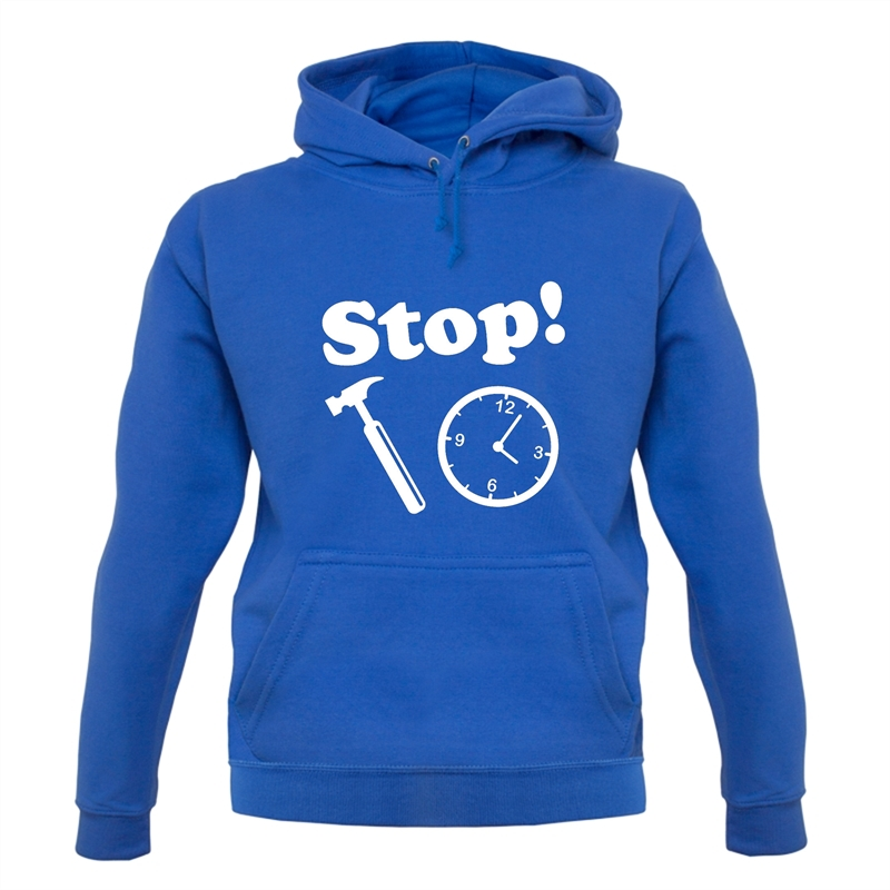 Stop! Hammer Time Hoodies