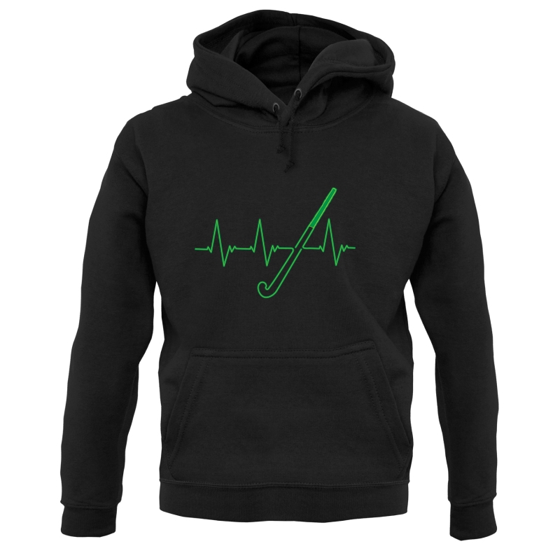 Hockey Heartbeat Hoodies