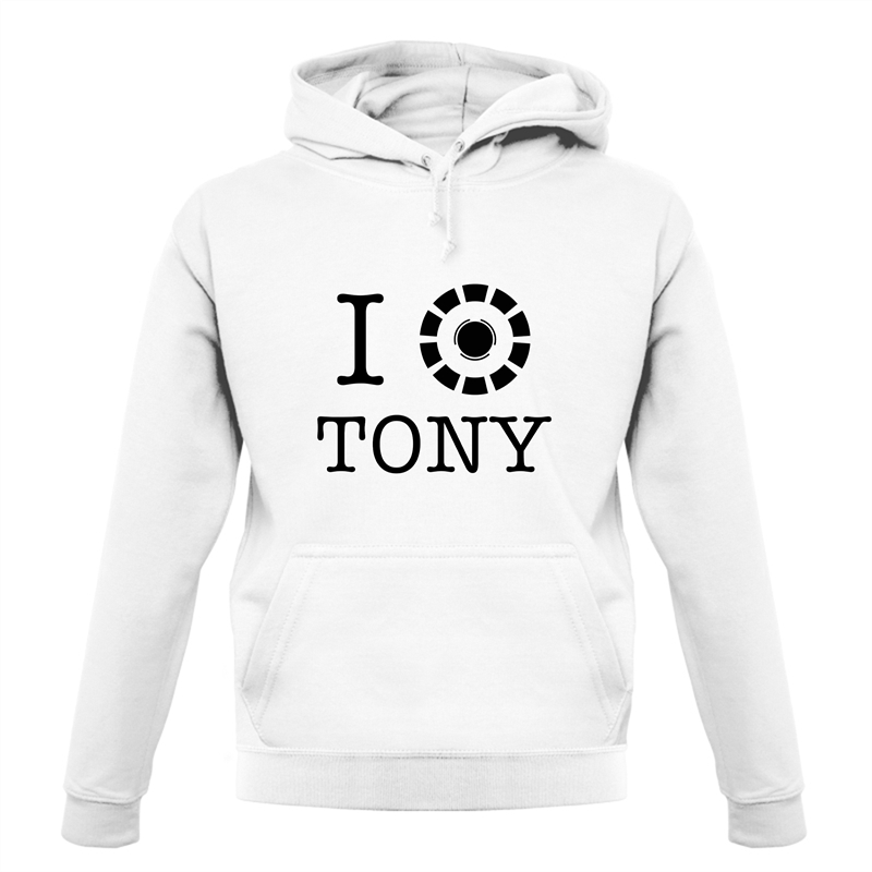 I Heart Tony Stark Hoodies