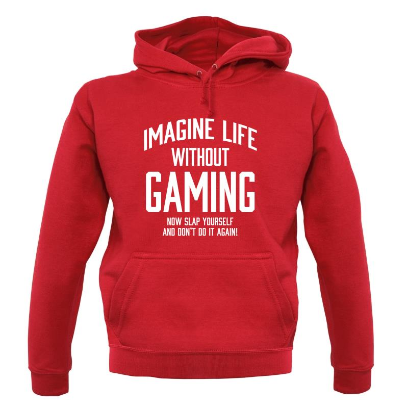 Imagine Life Without Gaming Hoodies