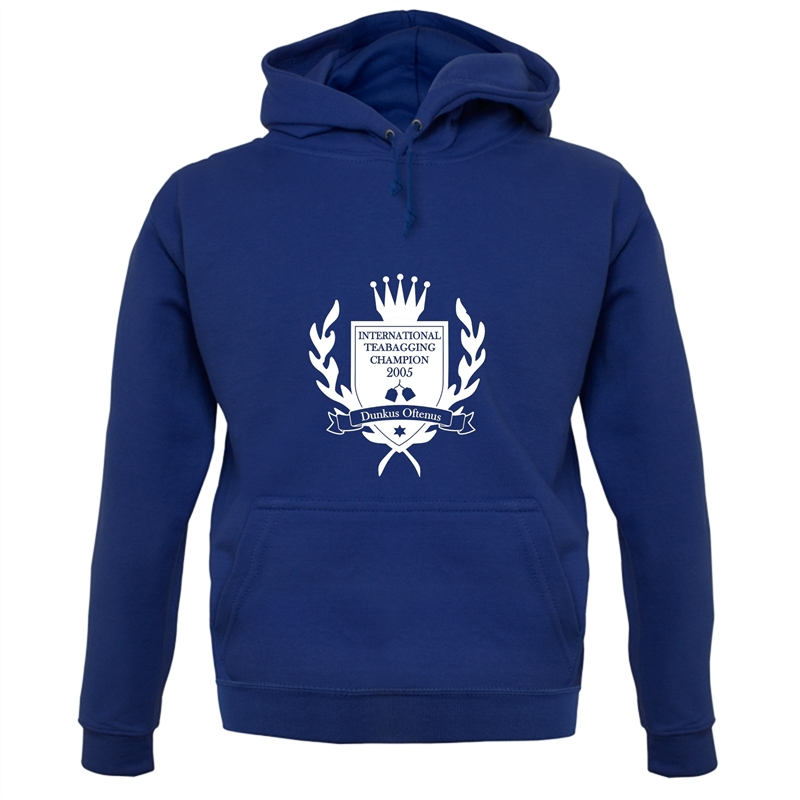 International Teabagging Champion Hoodies