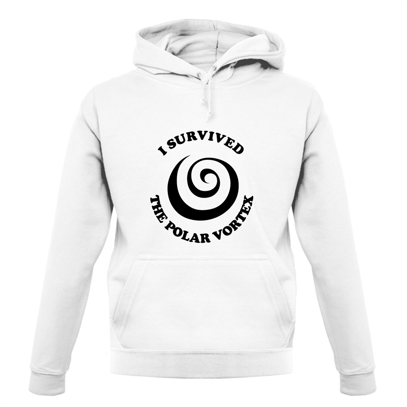 i survived the polar vortex Hoodies