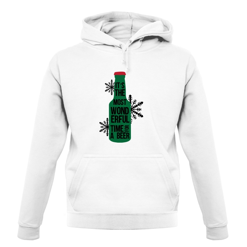 It's The Most Wonderful Time For A Beer Hoodies