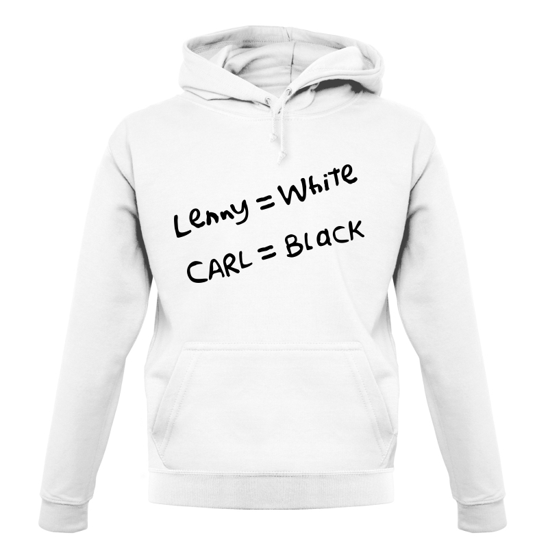 Lenny White - Carl Black. Homer Hand Hoodies