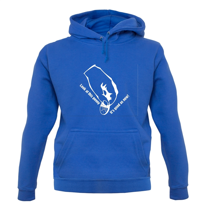 Look at this penny, it's good as new! Hoodies