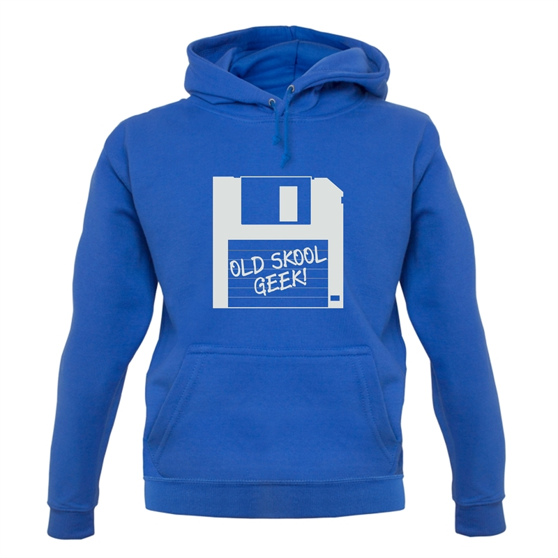 Old School Geek Hoodies