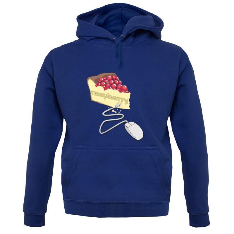 Raspberry Pie Hoodies