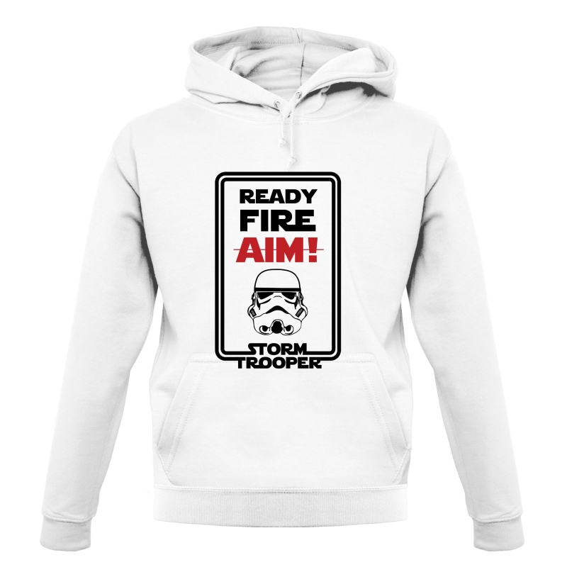 Ready Fire Aim Hoodies