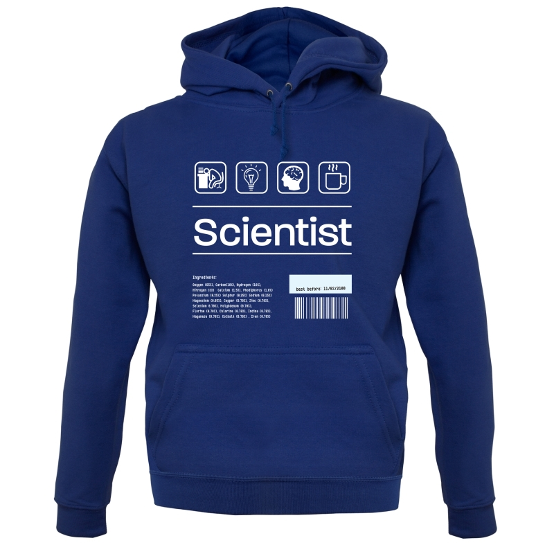 Scientist Ingredients Hoodies