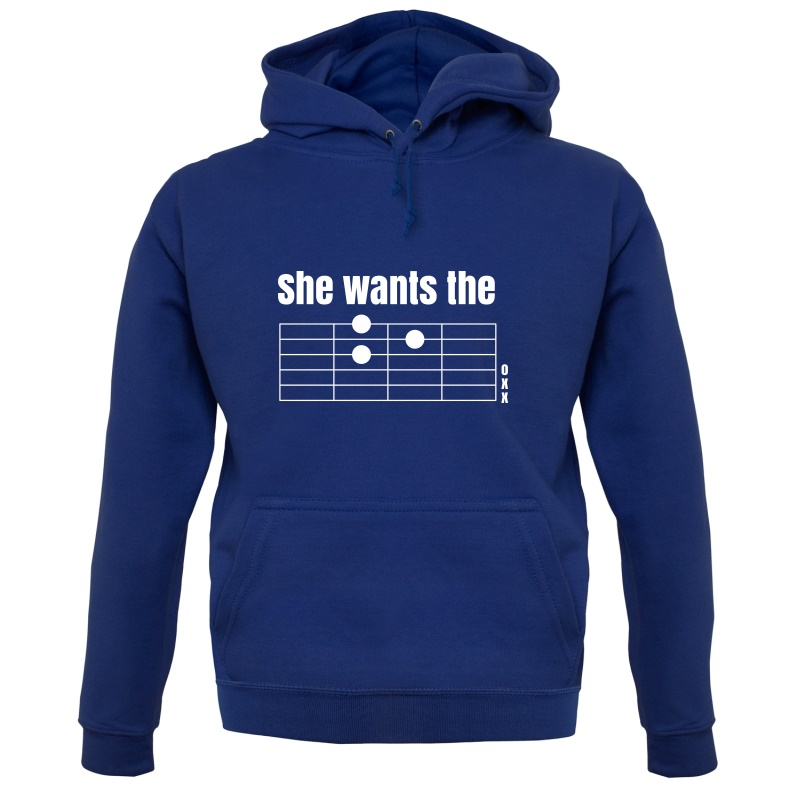 She Wants The D Hoodies
