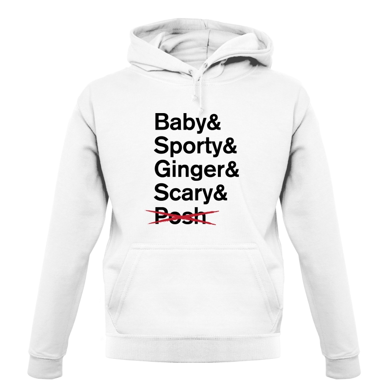 Spice Girls List Hoodies