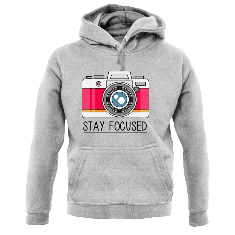 Stay Focused Hoodies