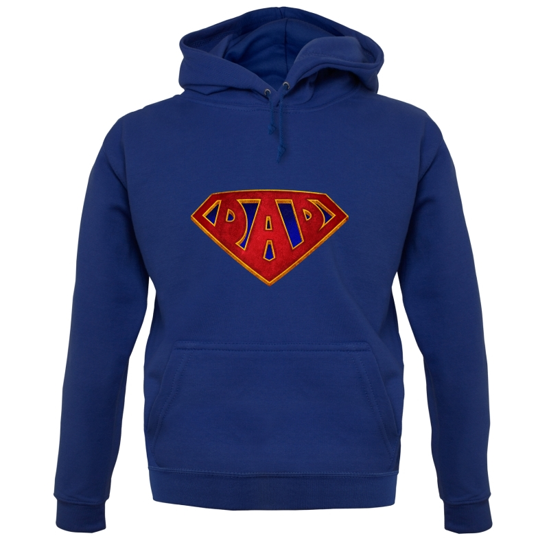 Super Dad Badge Hoodies