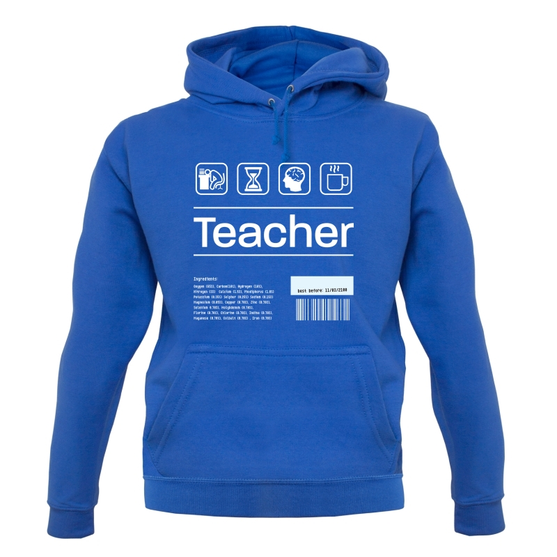 Teacher Ingredients Hoodies