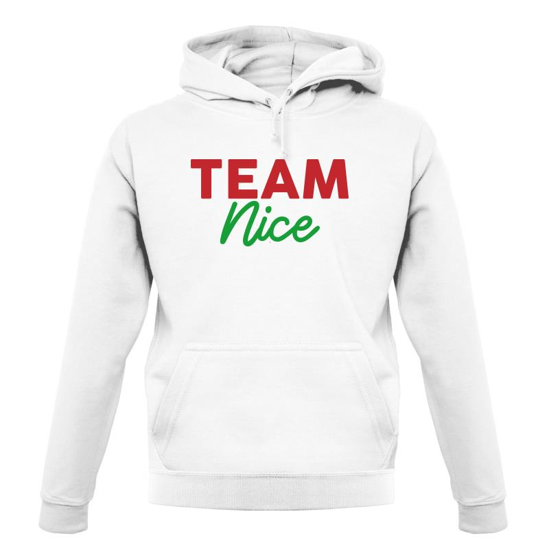 Team Nice Hoodies