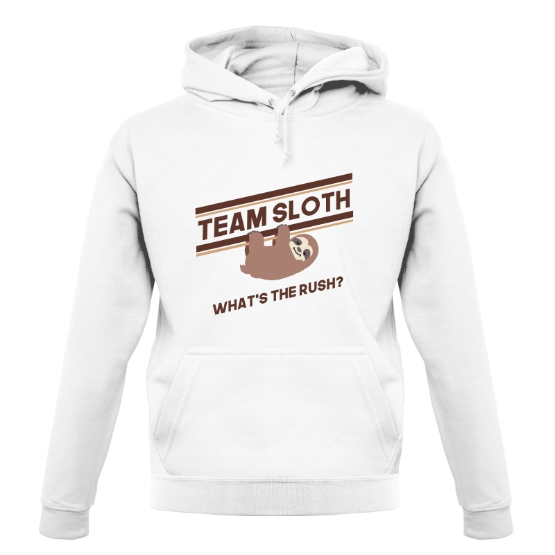 Team Sloth Hoodies