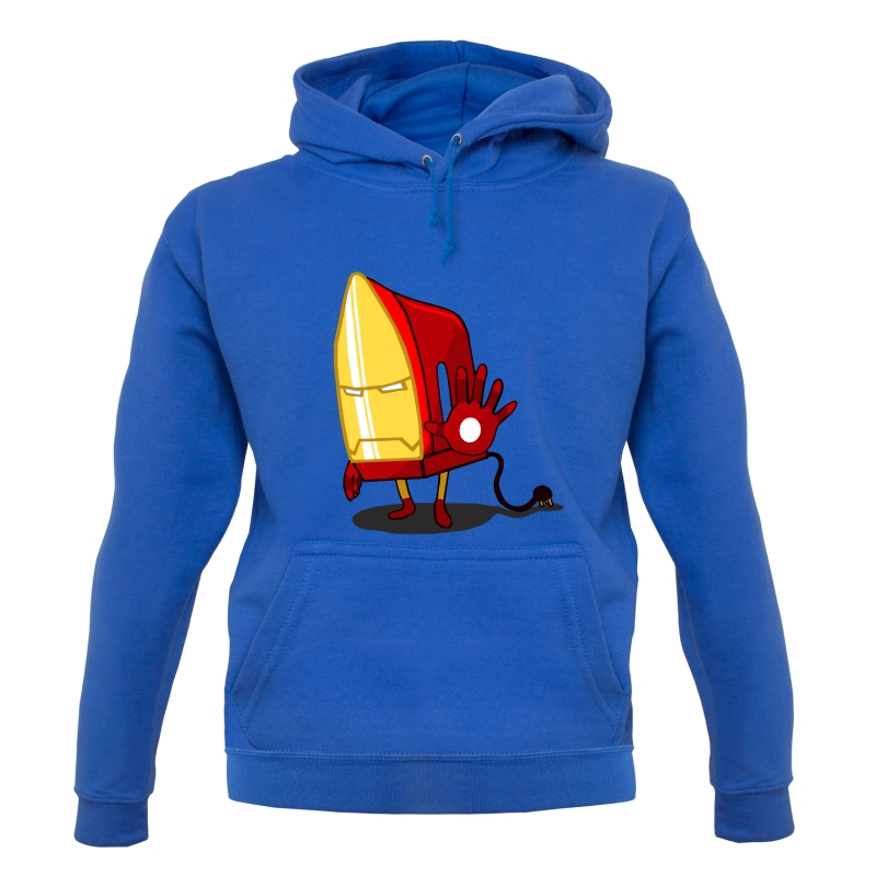 The Ironing Man Hoodies