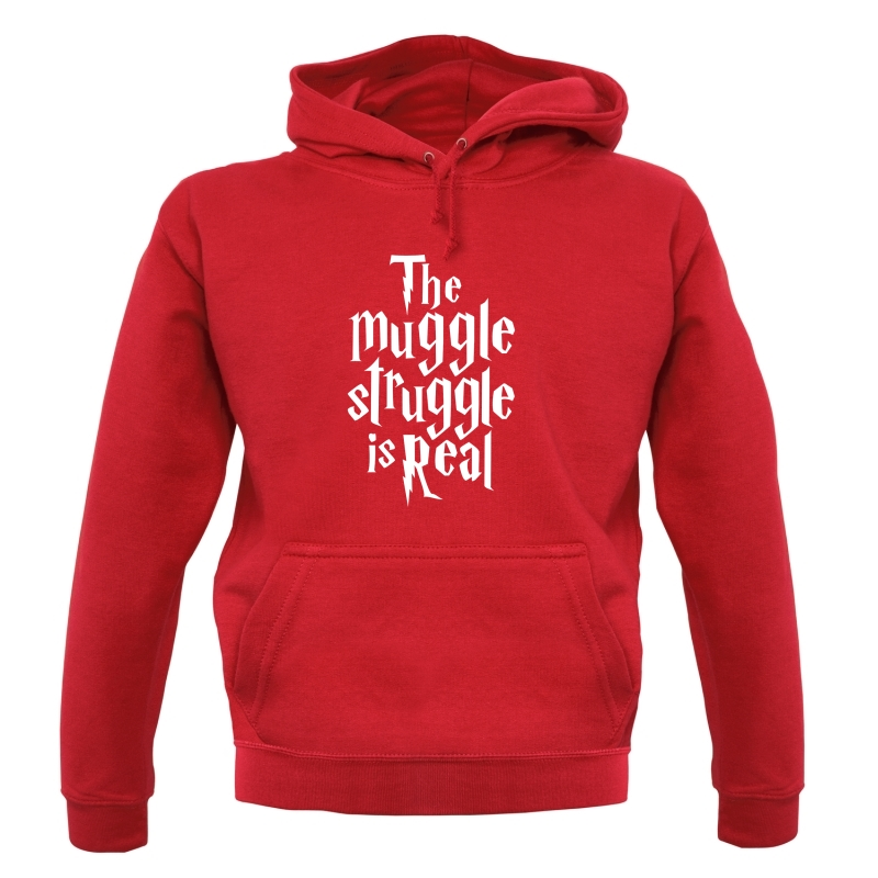 The Muggle Struggle Is Real Hoodies