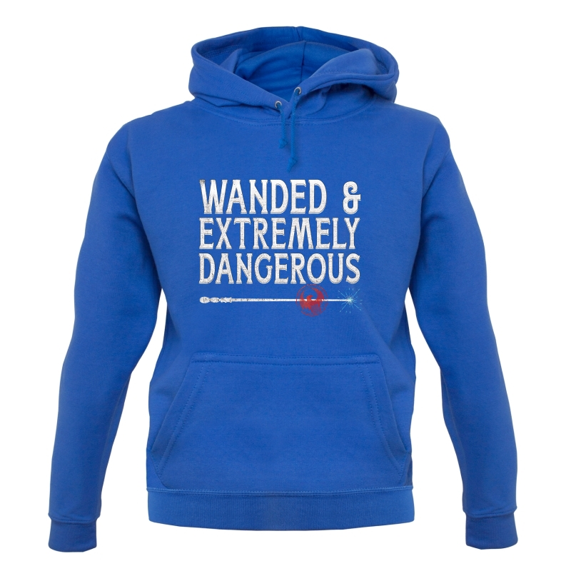 Wanded & Extremely Dangerous Hoodies