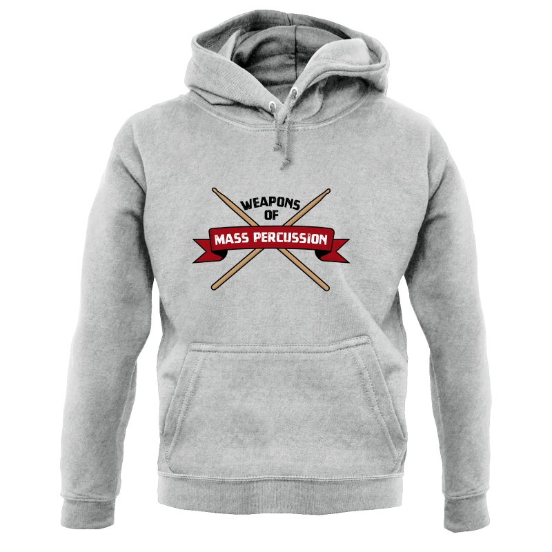 Weapons Of Mass Percussion Hoodies