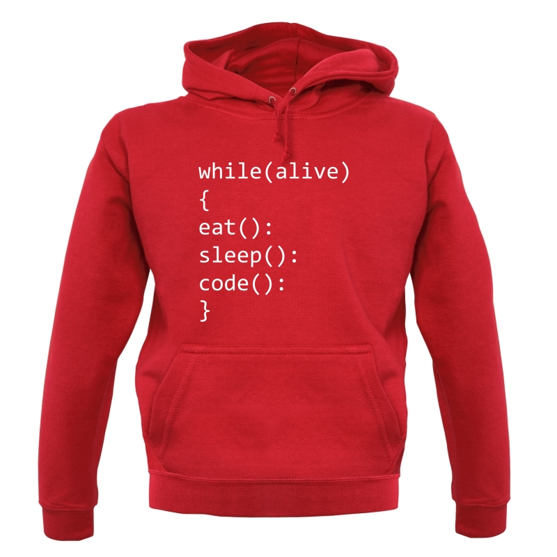 Eat, Sleep, Code Hoodies