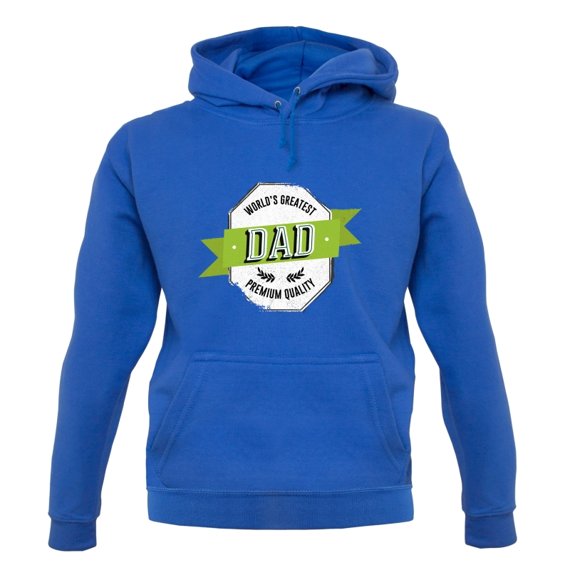 World's Greatest Dad Premium Quality Hoodies