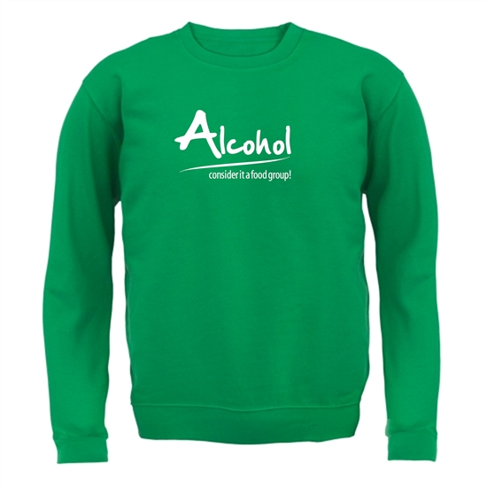 Alcohol - consider it a food group Jumpers