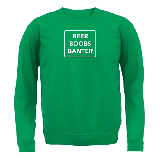Beer Boobs Banter Jumpers