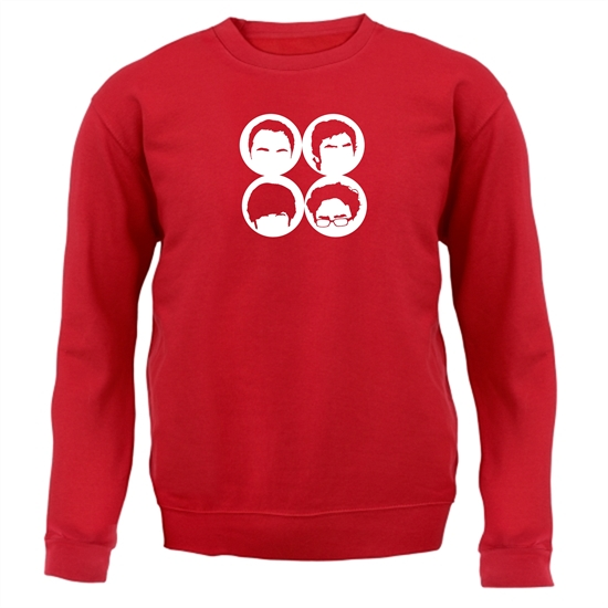 Big Bang Theory Silhouettes Jumpers