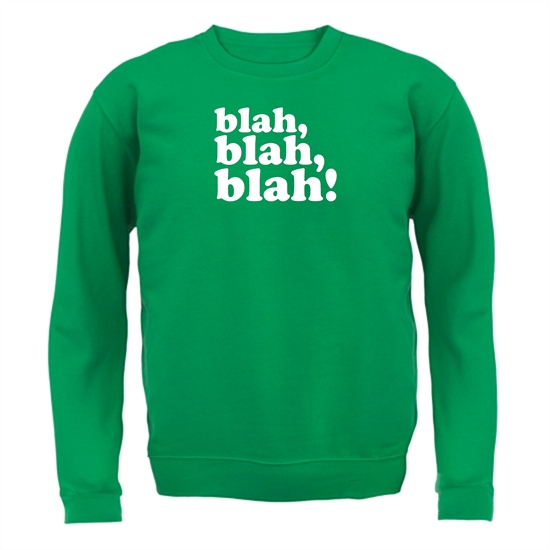 Blah, Blah, Blah! Jumpers