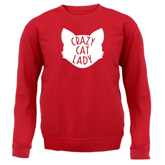 Crazy Cat Lady Jumpers