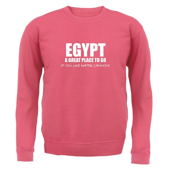 Egypt A Great Place To Go If You Like Water Cannons Jumpers