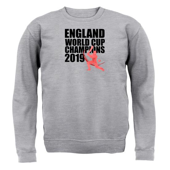 England World Cup Champions Jumpers